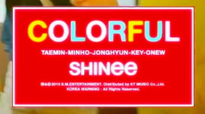 SHINee Colorful - Banner