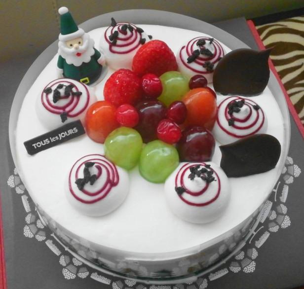 Tous Les Tours Christmas Cake 2