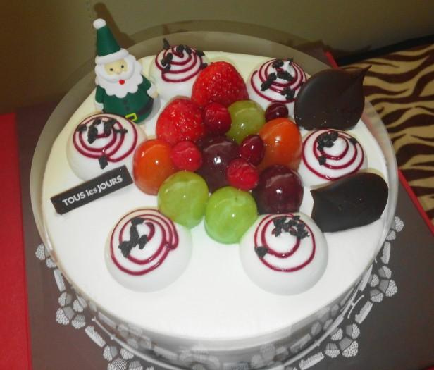Tous Les Tours Christmas Cake 3