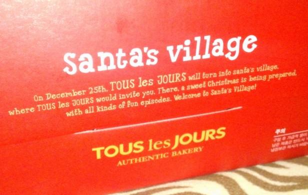 Tous Les Tours Christmas Cake