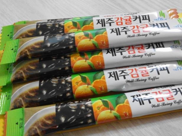 Jeju Orange Coffee Mix 1