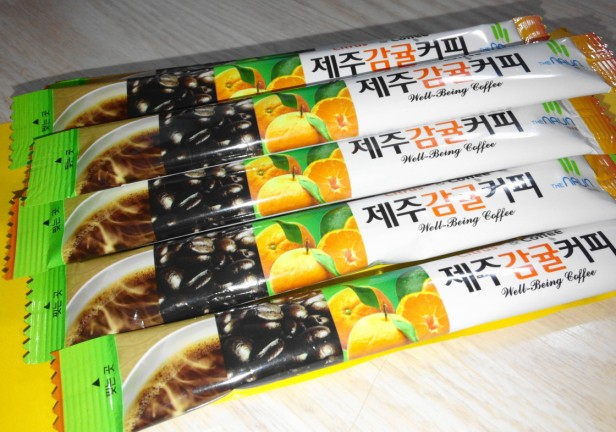 Jeju Orange Coffee Mix 2