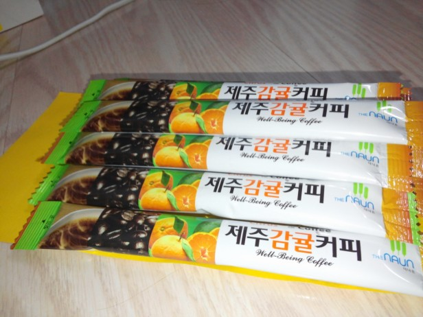 Jeju Orange Coffee Mix 3