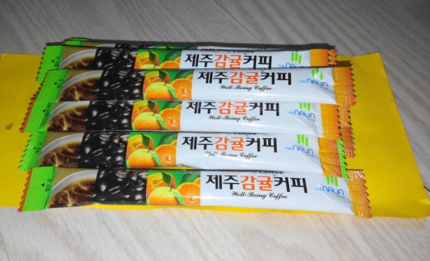 Jeju Orange Coffee Mix 4