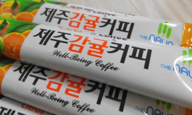 Jeju Orange Coffee Mix 5
