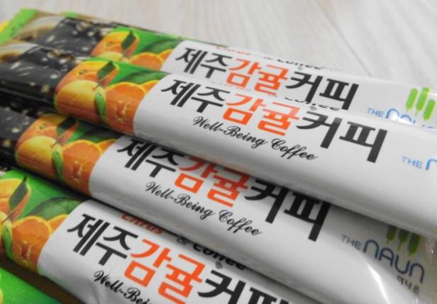 Jeju Orange Coffee Mix 6