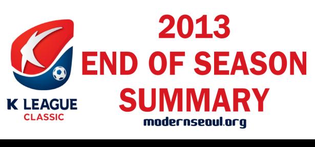 K League Classic 2013 Season Summary