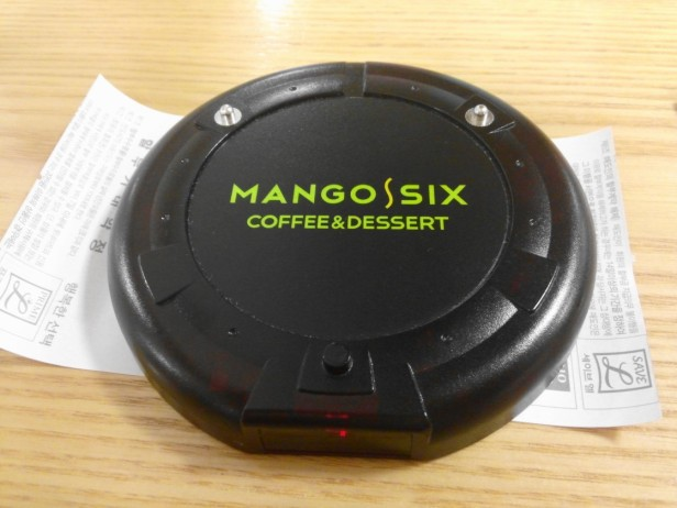 Mango Six Coffee Korea - Buzzer