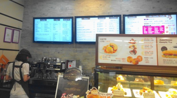 Mango Six Coffee Korea - Counter