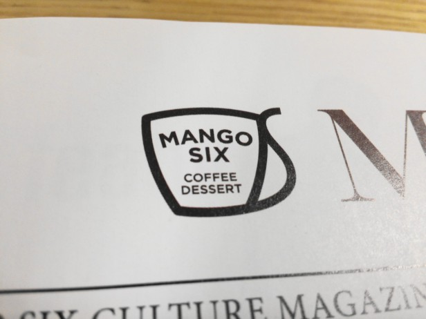 Mango Six Coffee Korea - Magazine Logo