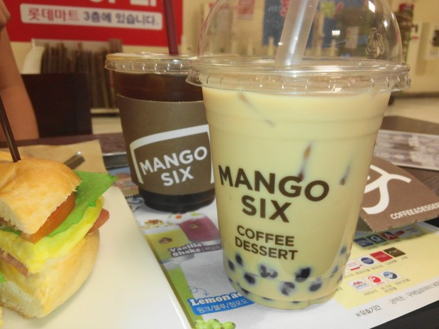 Mango Six Coffee Korea - Set 1
