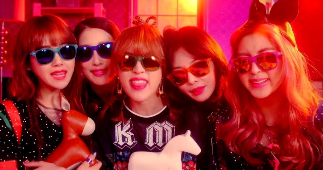 4minute whatcha doin today - group