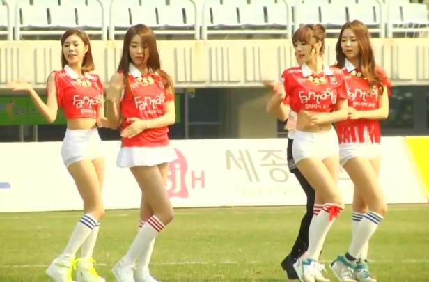 KPOP Group Stellar at Bucheon vs. Chungju