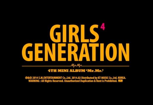 Girls' Generation Mr. Mr. - Banner