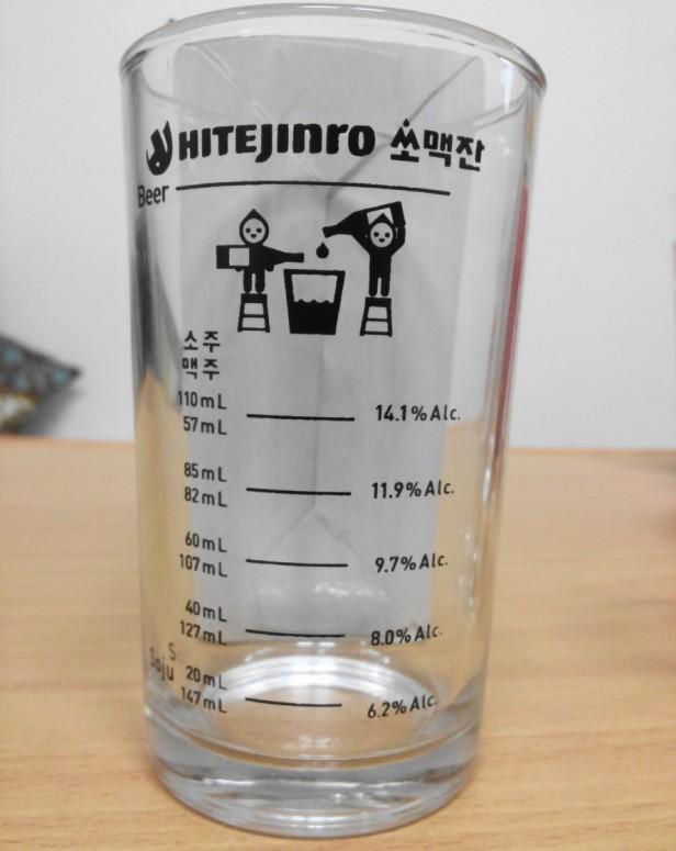 Jinro Somek Glass - Empty