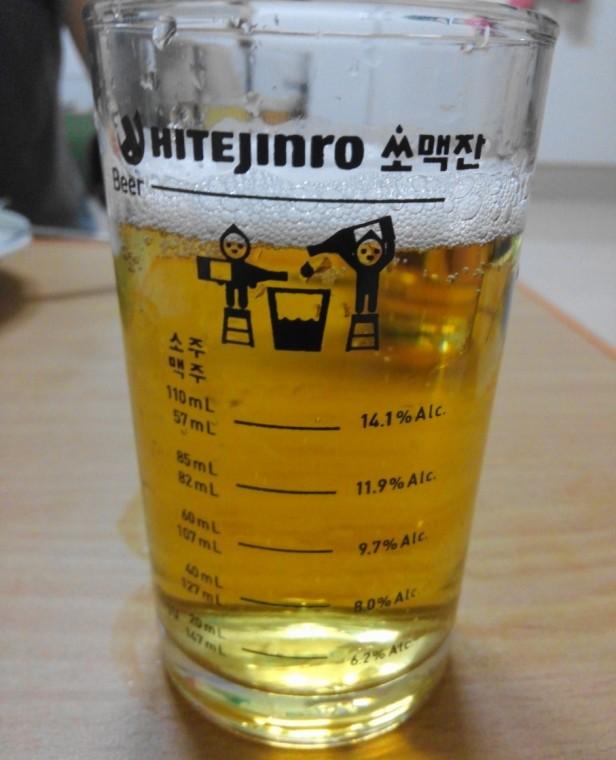 Jinro Somek Glass - Full