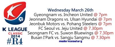 K League Classic 2014 Round 4