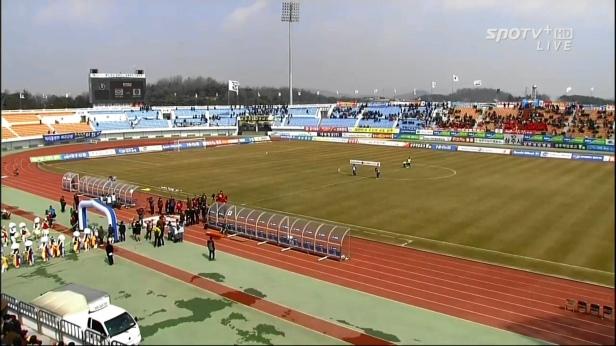 Sangju Sangmu vs. Incheon United - K League Classic 2014 R1