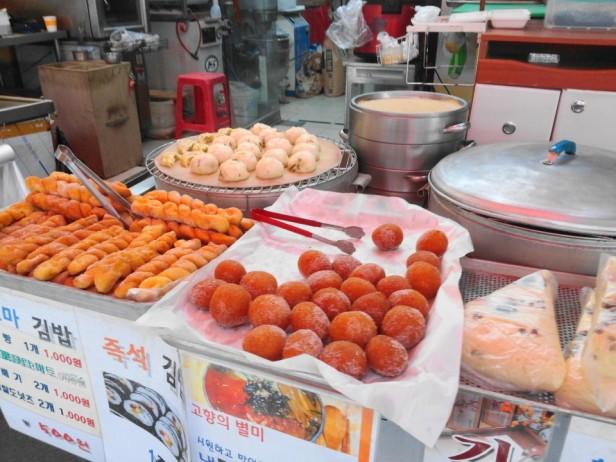 Byeongbang Market - Bread