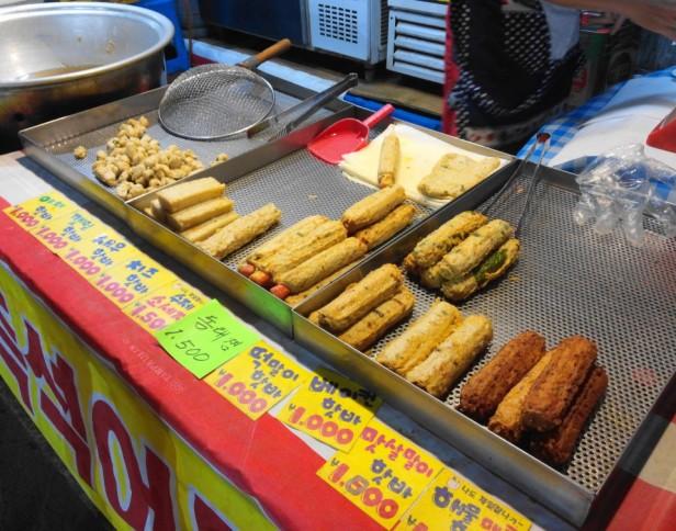 Byeongbang Market Food