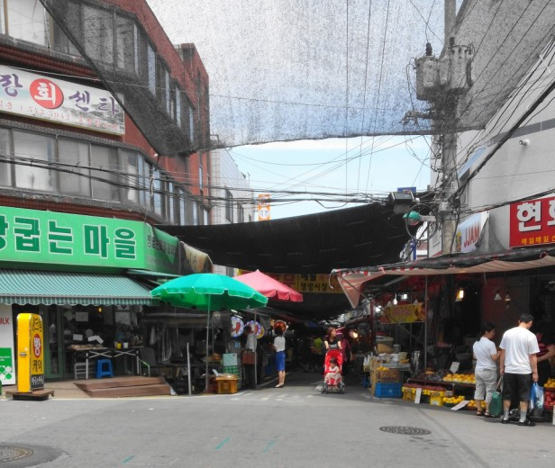 Byeongbang Market - Incheon