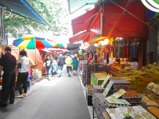 Byeongbang Market - Inside