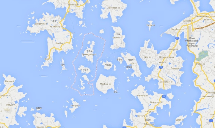 Byeongpeong Island Location Local - Sewol Ferry