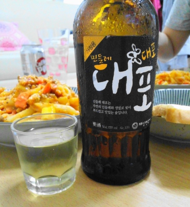 Dandelion Rice Soju - With Friends