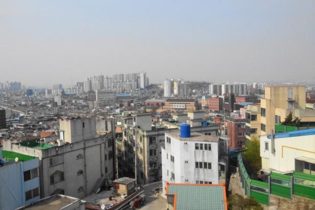 Downtown Incheon Skyline - Dowon