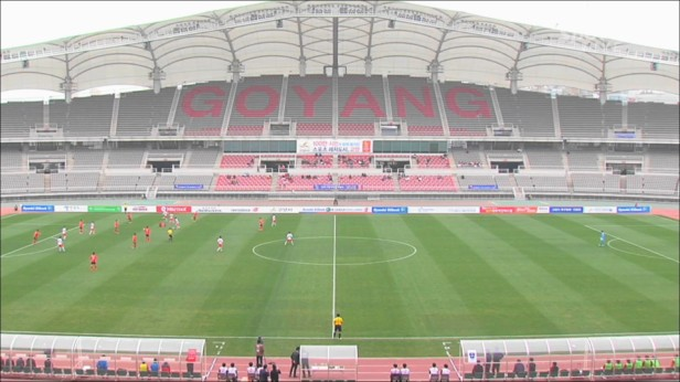 Goyang Hi vs. Suwon City at the Goyang World Cup Stadium