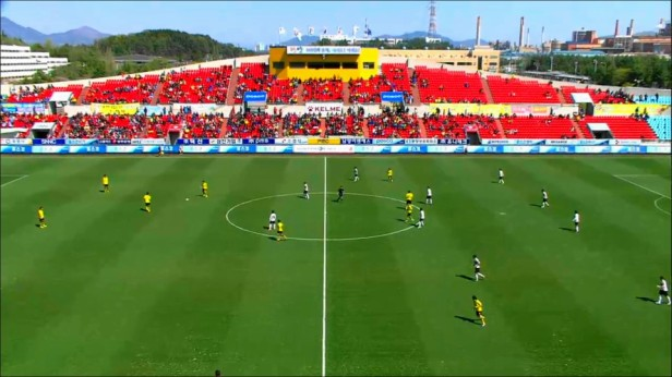 Gwangyang football stadium - Home of Jeonnam Dragons