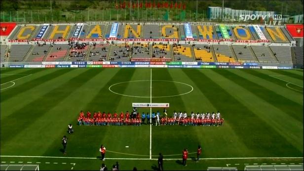 Gyeongnam vs. Sangju Sangmu - April 20th