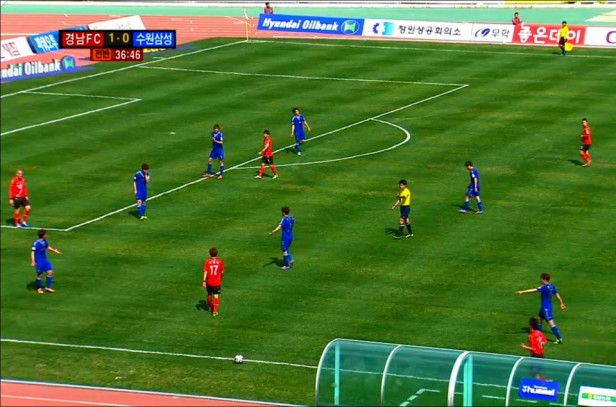 Gyeongnam vs. Suwon Bluewings - 2013