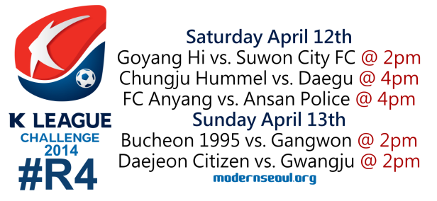 K League Challenge 2014 Round 4