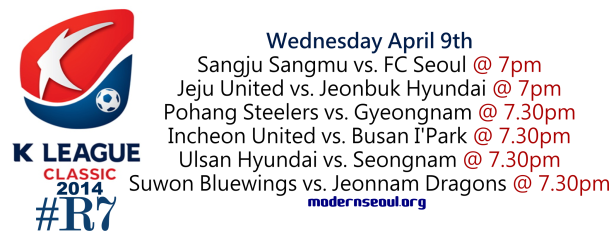 K League Classic 2014 Round 7