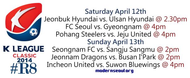 K League Classic 2014 Round 8