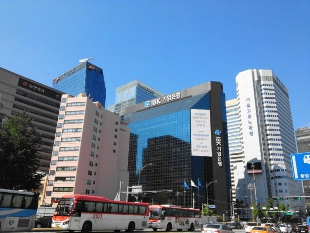 Myeongdong Banking Skyline - Seoul