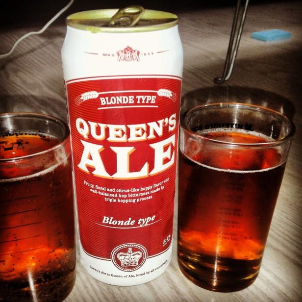 Queens Ale Korean Beer - Blonde Type