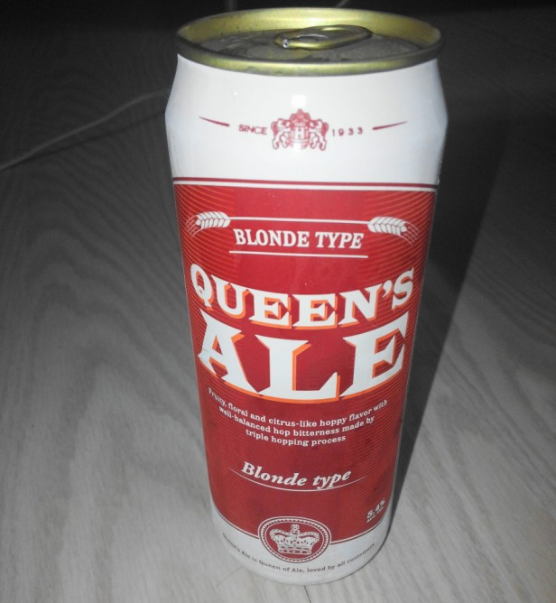 Queens Ale Korean Beer - Can
