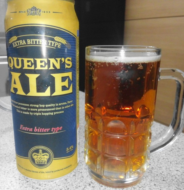 Queens Ale Korean Beer - Extra Bitter
