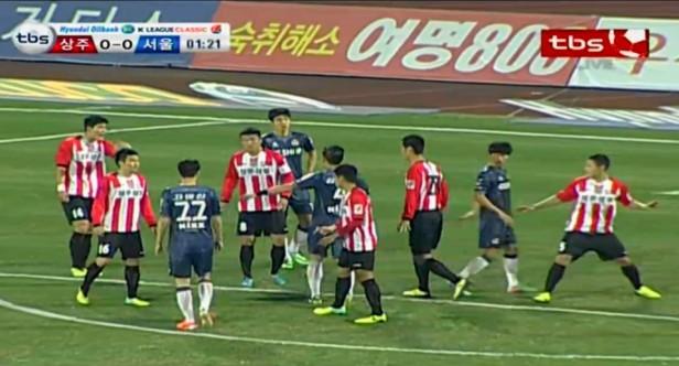 Sangju Sangmu vs. FC Seoul 2014