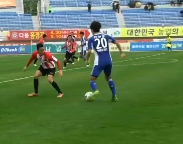 Sangju Sangmu vs. Ulsan Hyundai - 2014