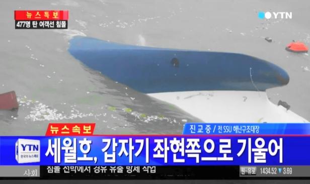 Sewol Ferry Sinking - South Korea