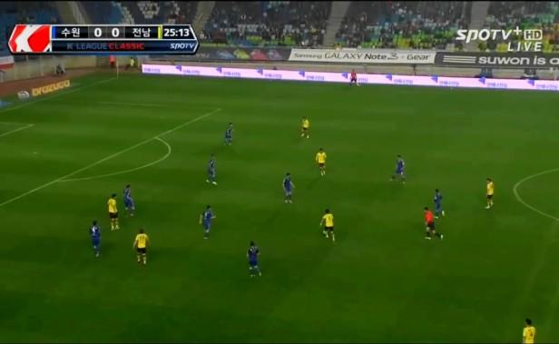 Suwon Bluewings vs. Jeonnam Dragons 2014