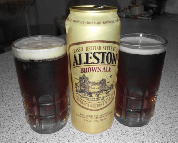 Aleston Korean Ale OB Brown 1