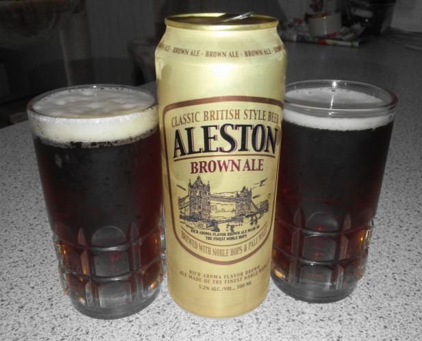 Aleston Korean Ale OB Brown 1