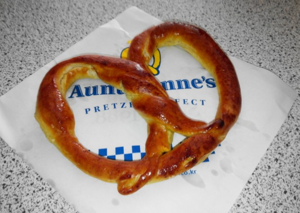 Auntie Anne's Pretzels in South Korea Original