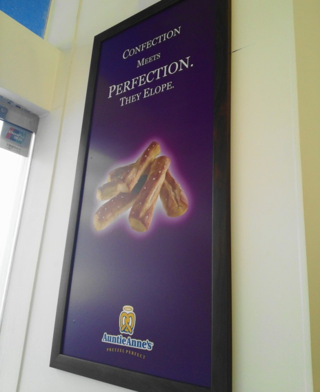 Auntie Anne's Pretzels in South Korea Poster