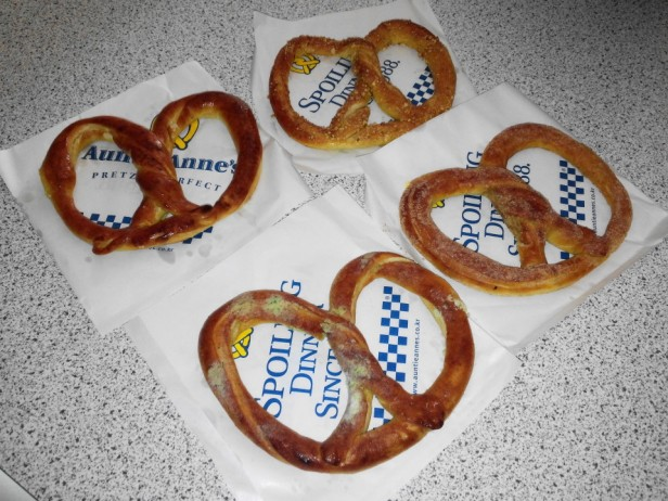 Auntie Anne's Pretzels in South Korea Set