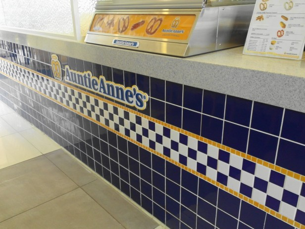 Auntie Anne's Pretzels in South Korea Store